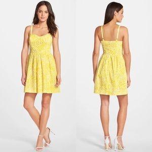 Lilly Pulitzer Christine Print Poplin Fit & Flare Dress